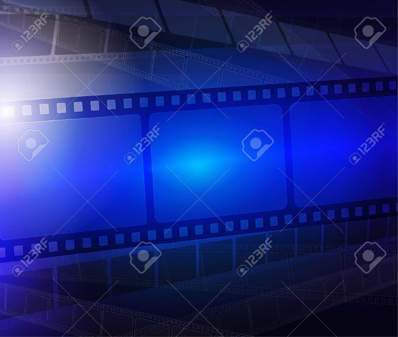 Film strip abstract background Stock Vector - 11208908