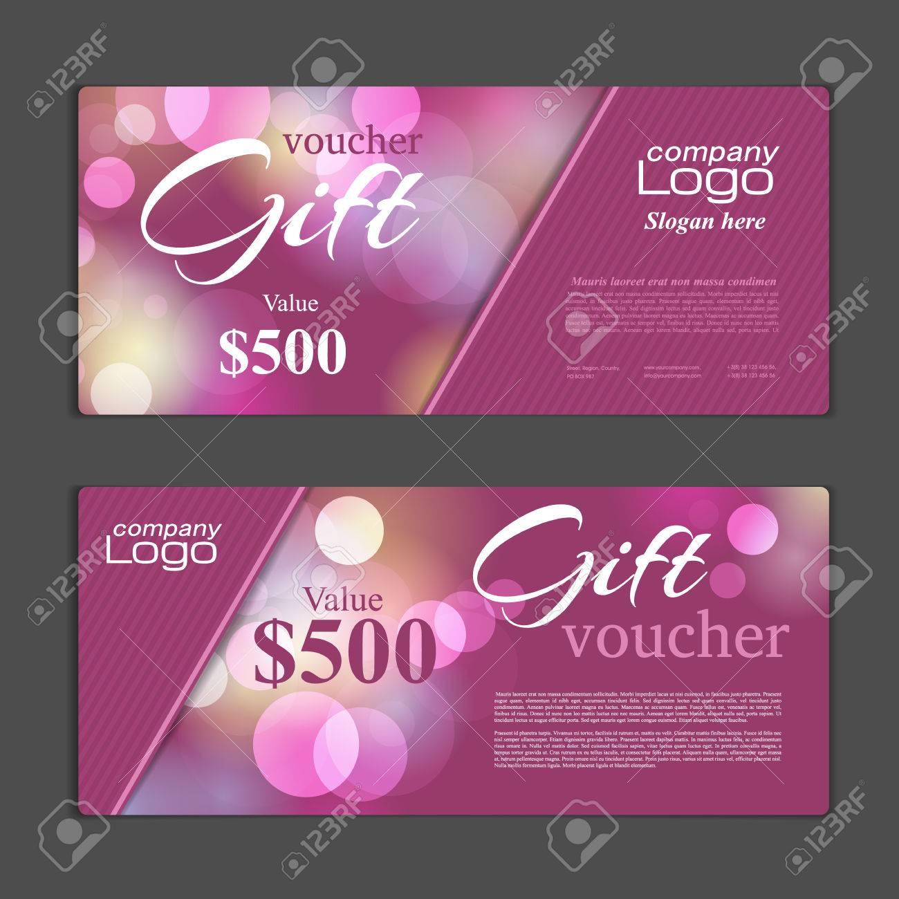 Gift Voucher template - 51299844