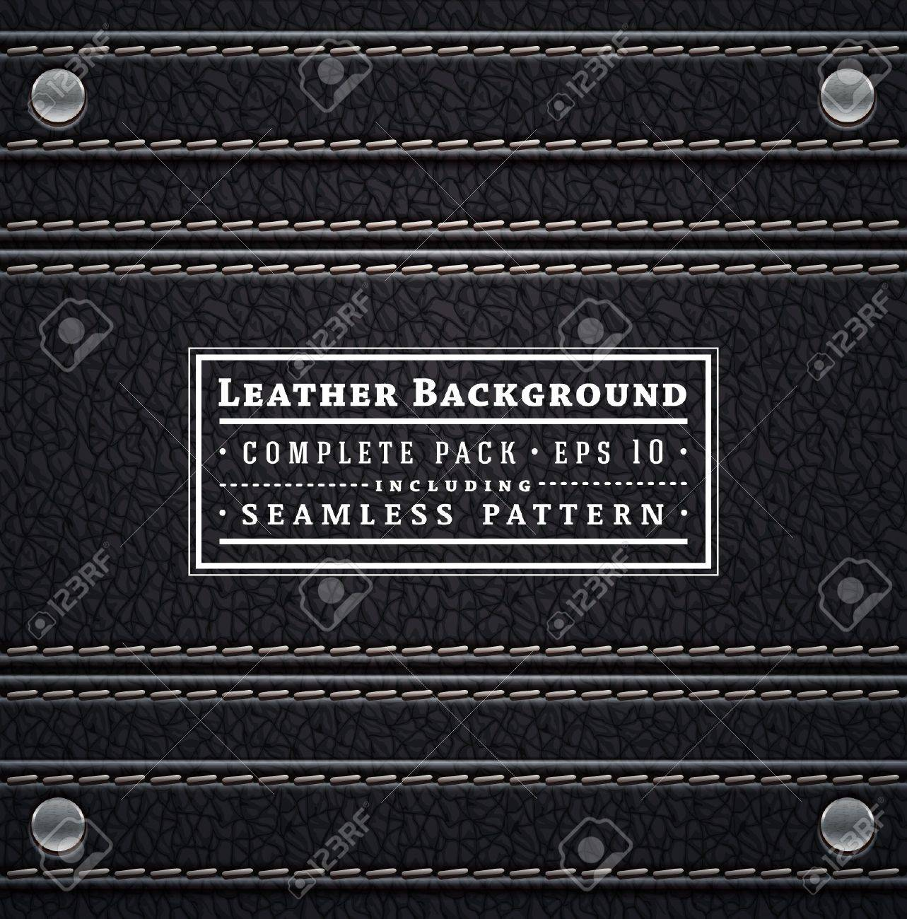 Leather texture Stock Vector - 18103178