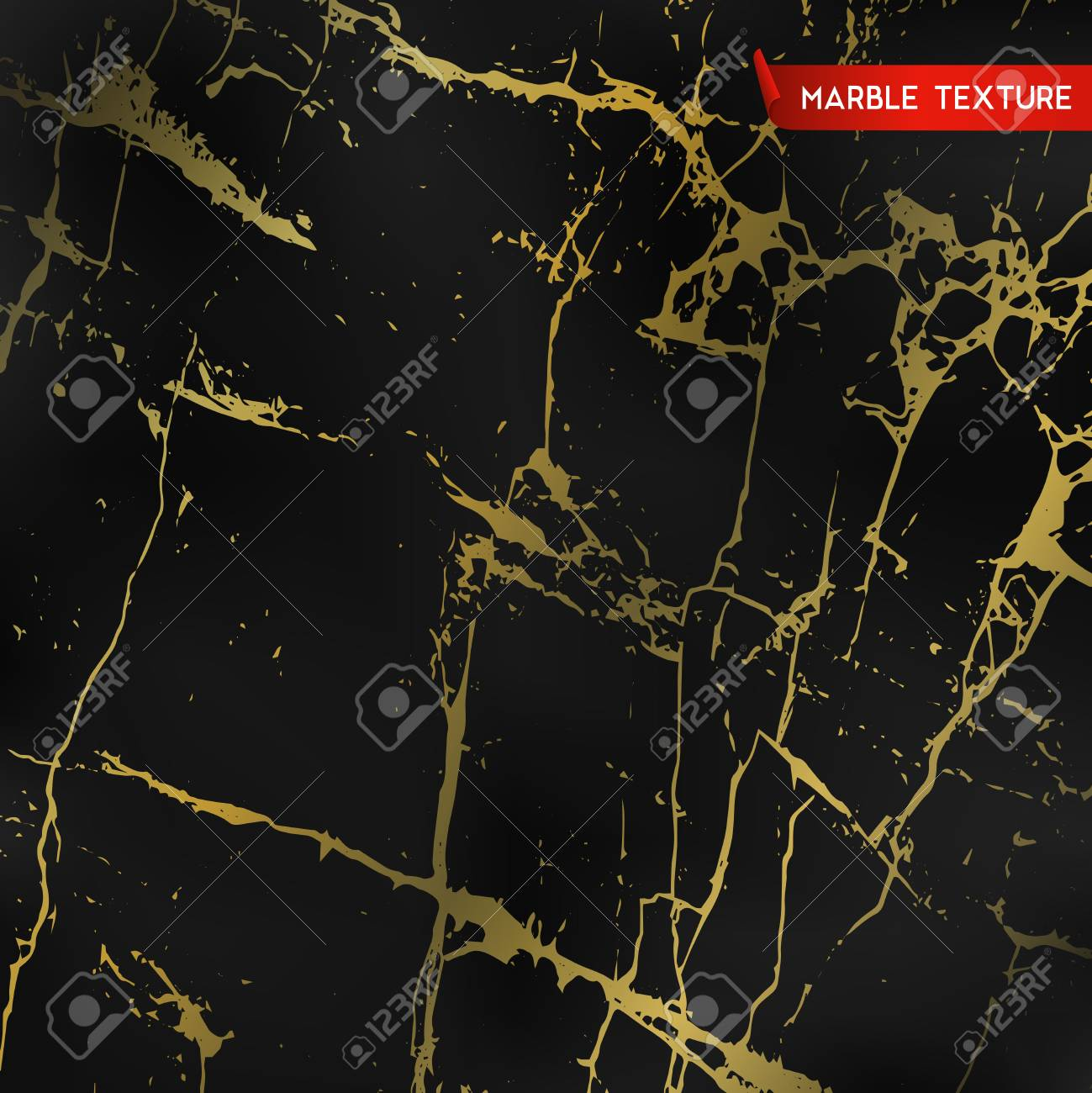 Black marble textures with gold vector background template black marble textures with gold vector background template for wedding invitation banner stopboris Image collections