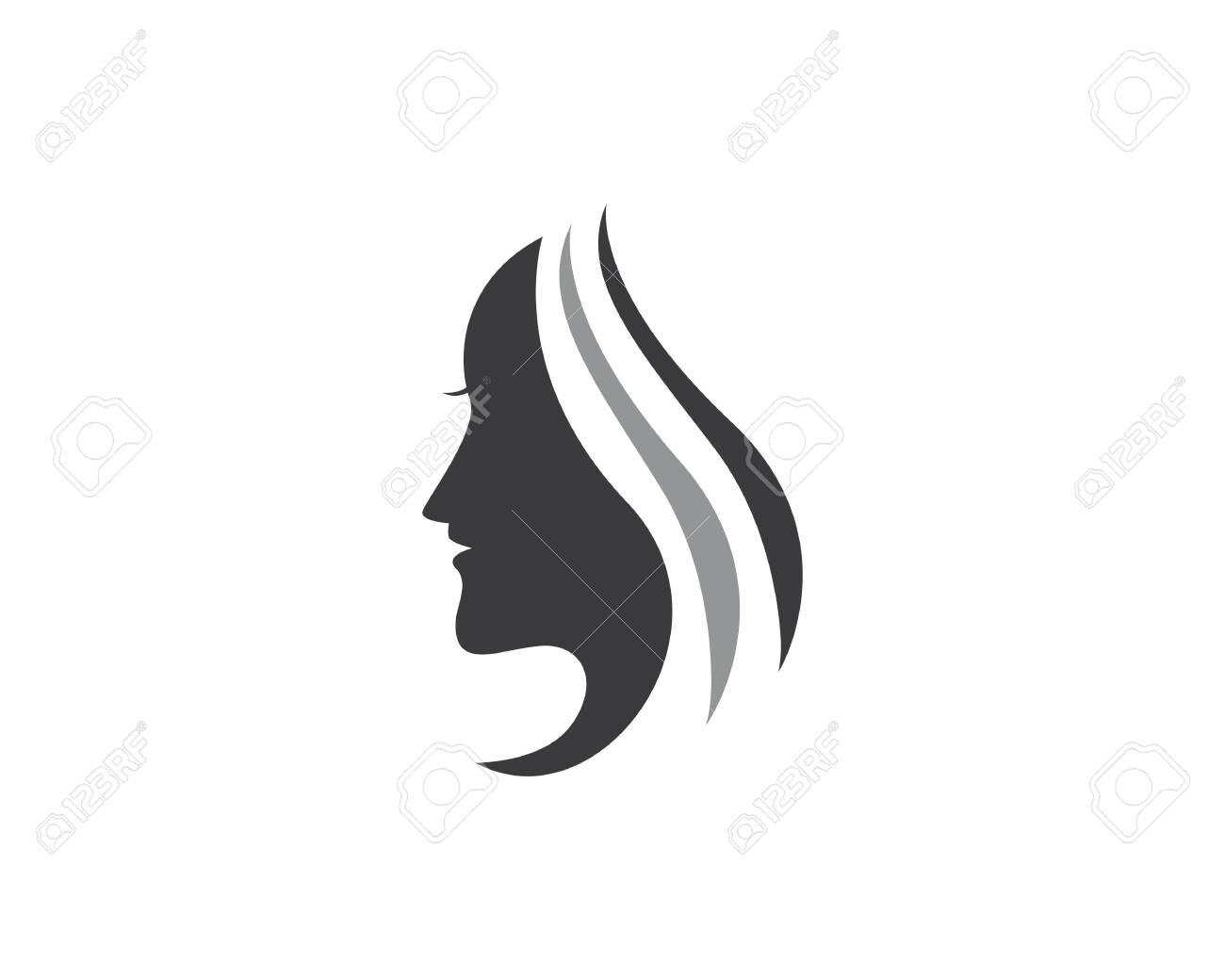 beauty woman logo icon - 129089624