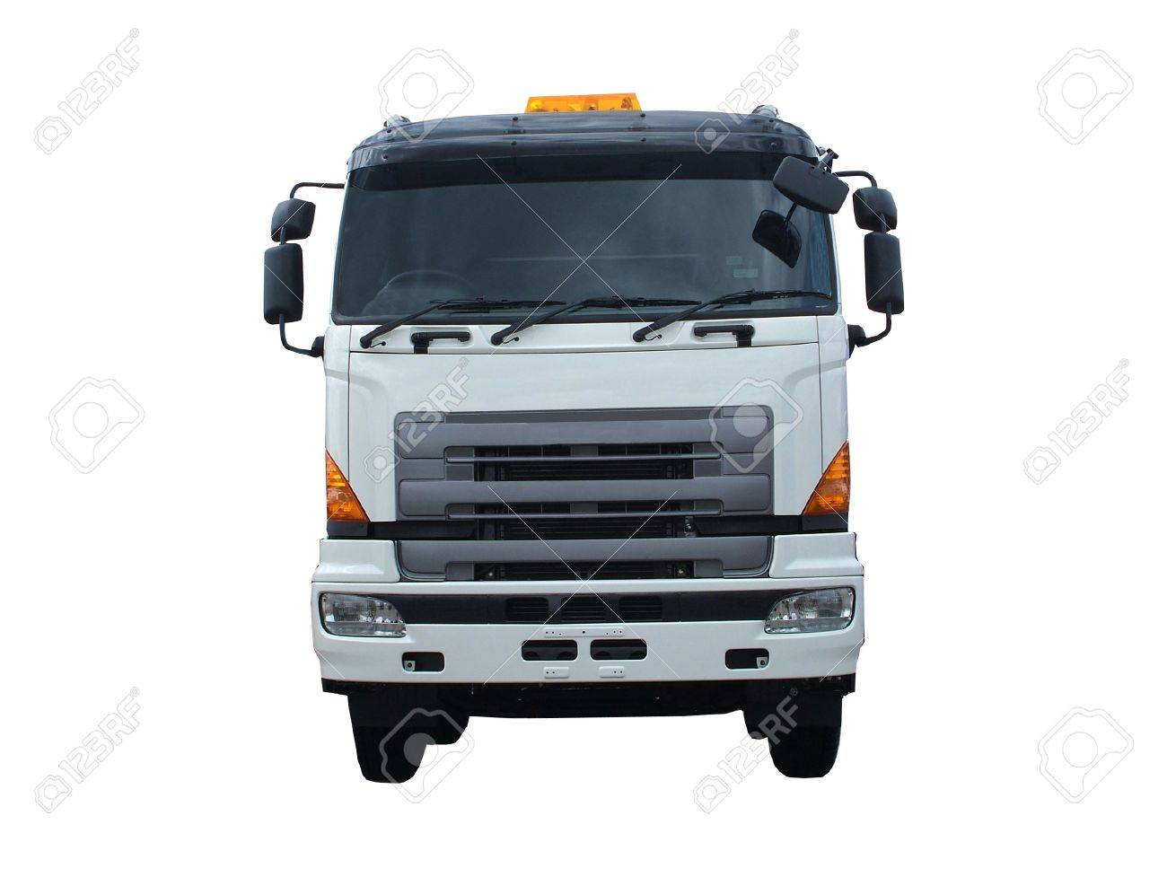 The Front of a Large Transport Lorry. Stock Photo - 6374068