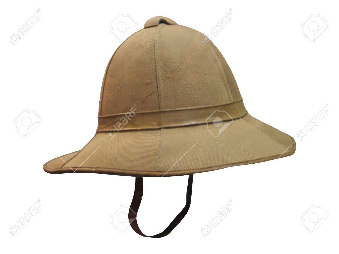 535f59c933cdf A Typical Traditional Army Colonial Pith Helmet. Stock Photo - 9501614