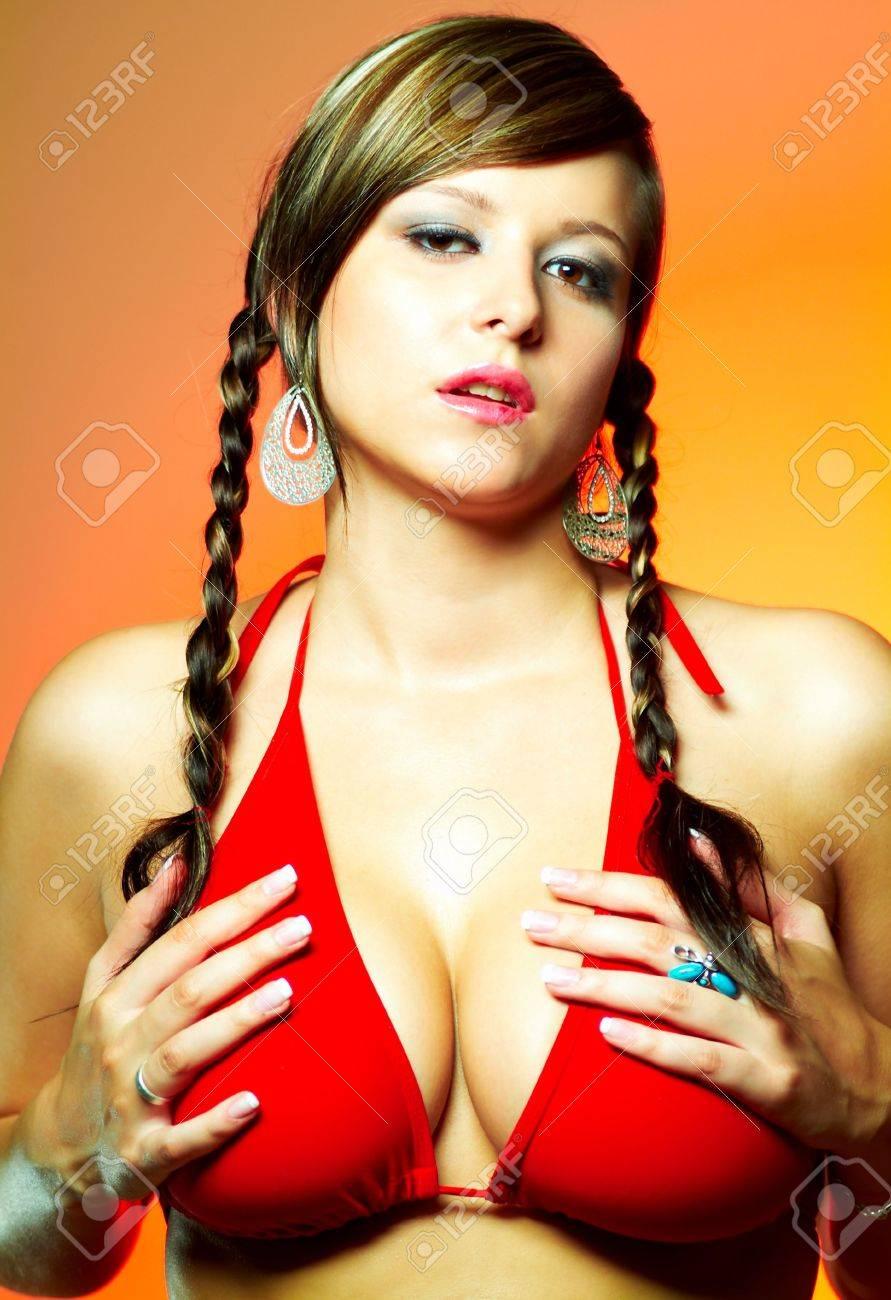Nude girl selfie tanlines spread