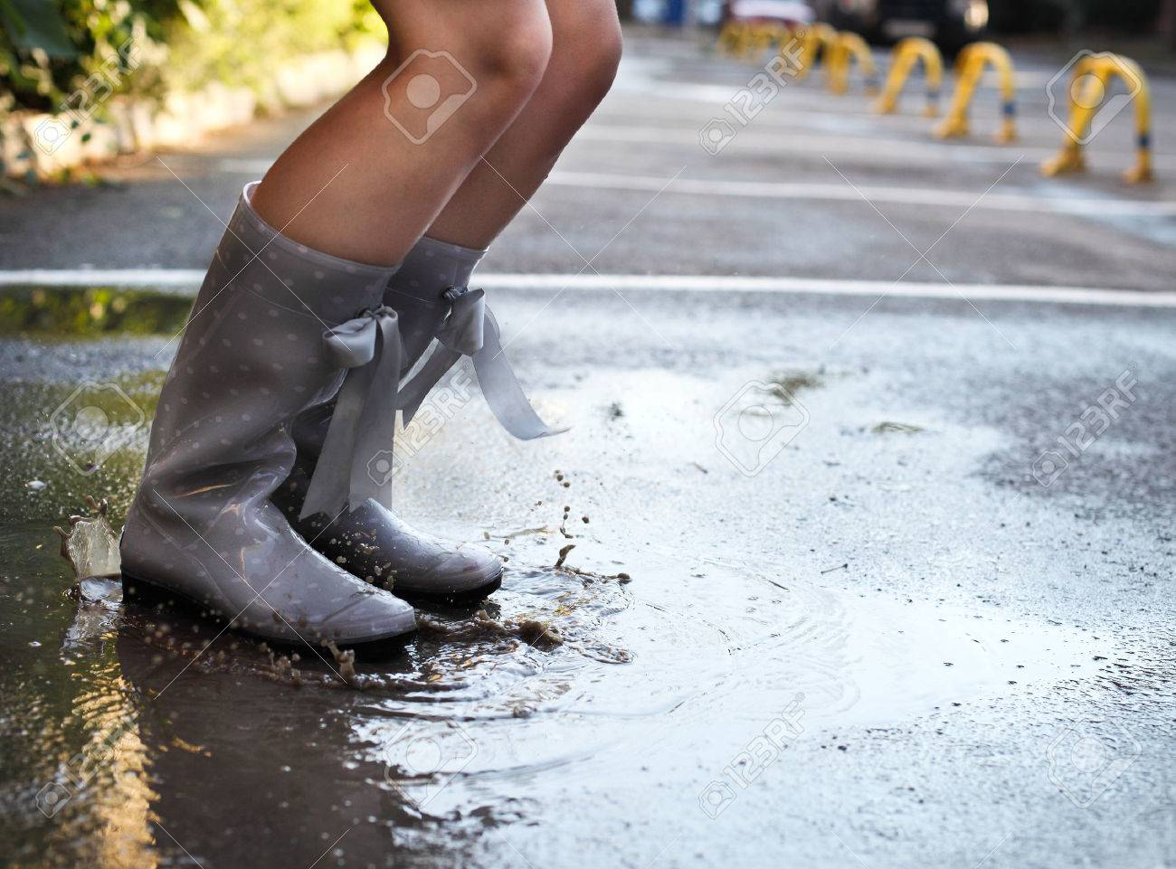 Rainboots Stock Photos & Pictures. Royalty Free Rainboots Images ...