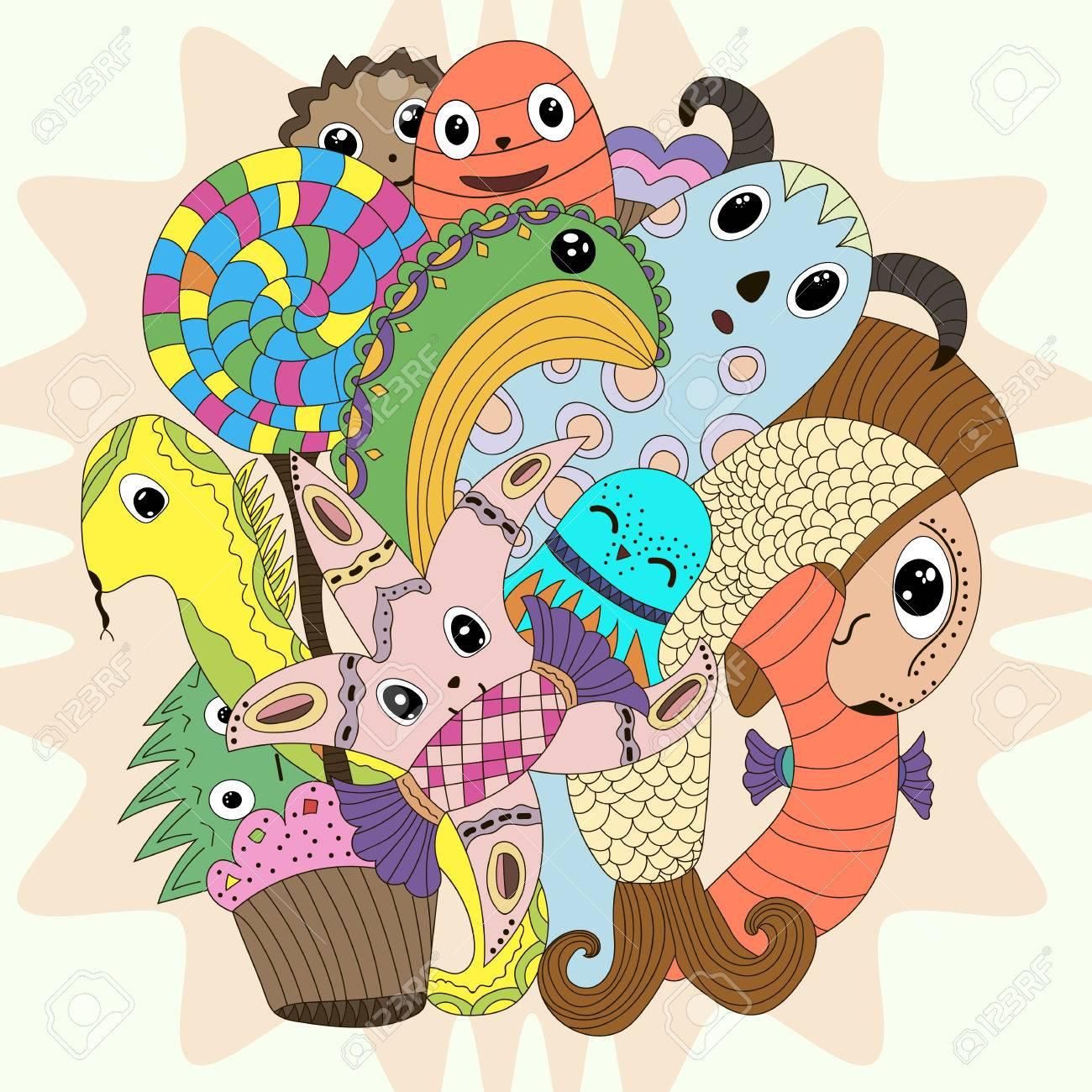 Hermosa Monstruo Alto Para Colorear Bebé Clawdeen Motivo - Dibujos ...