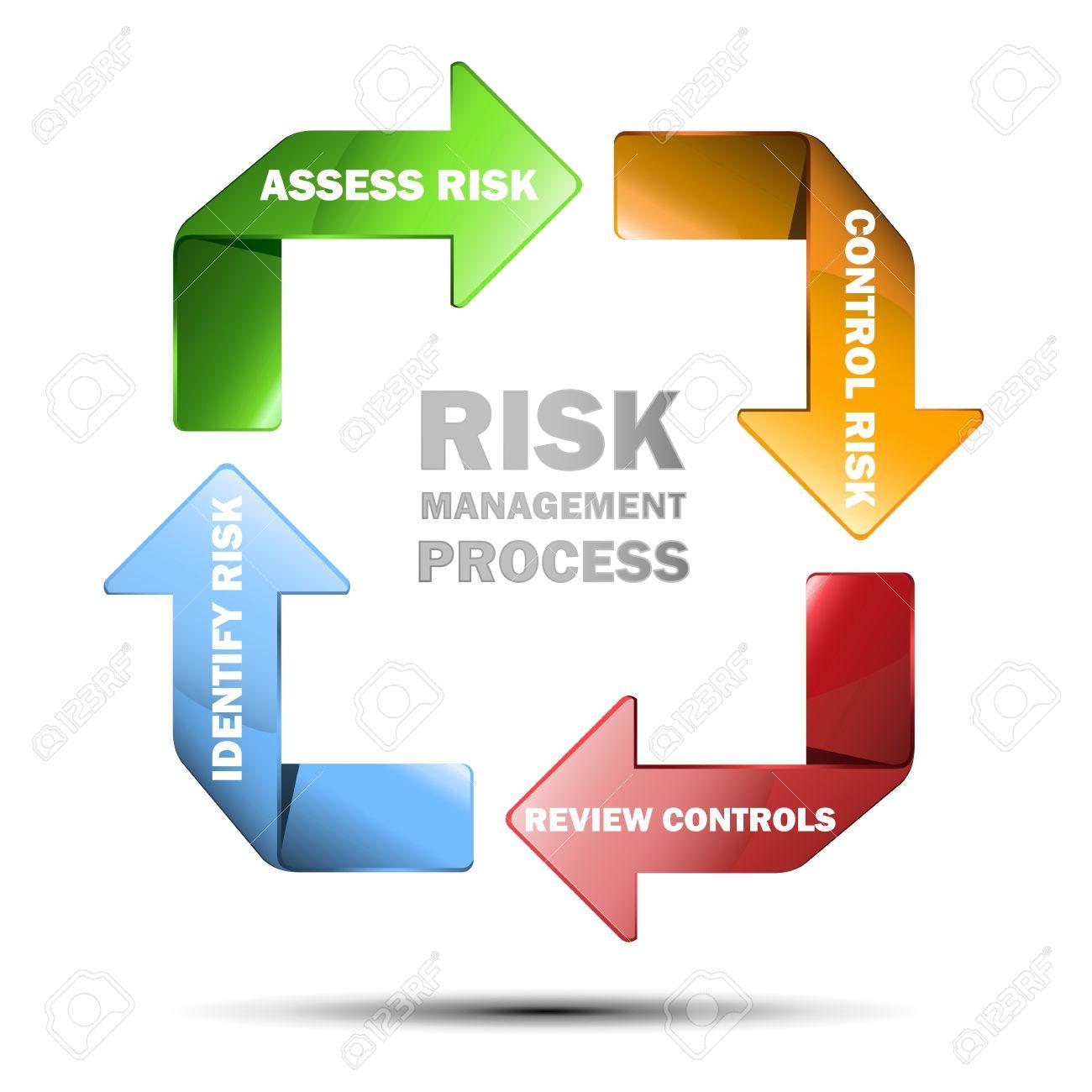 Vector diagram of risk managment Stock Vector - 21087452