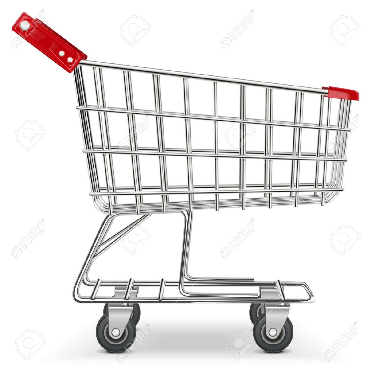 Vector Supermarket Cart - 22406750