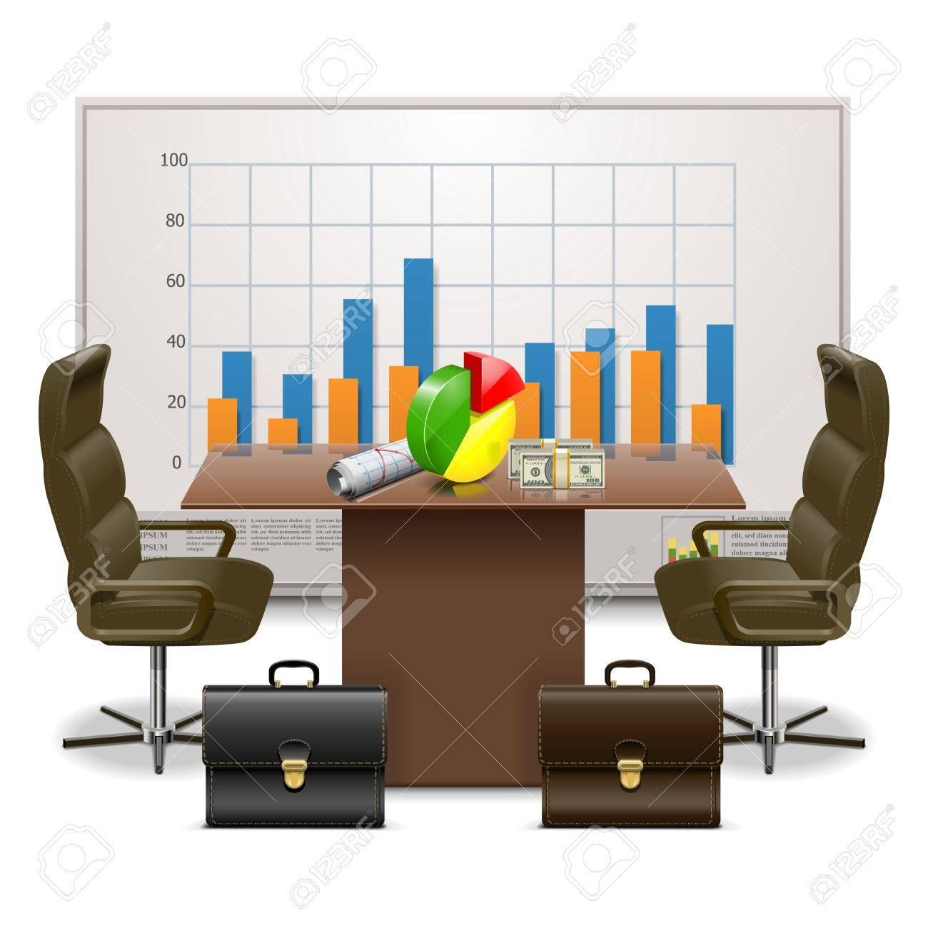 Vector Business Plan Concept Stock Vector - 26056531