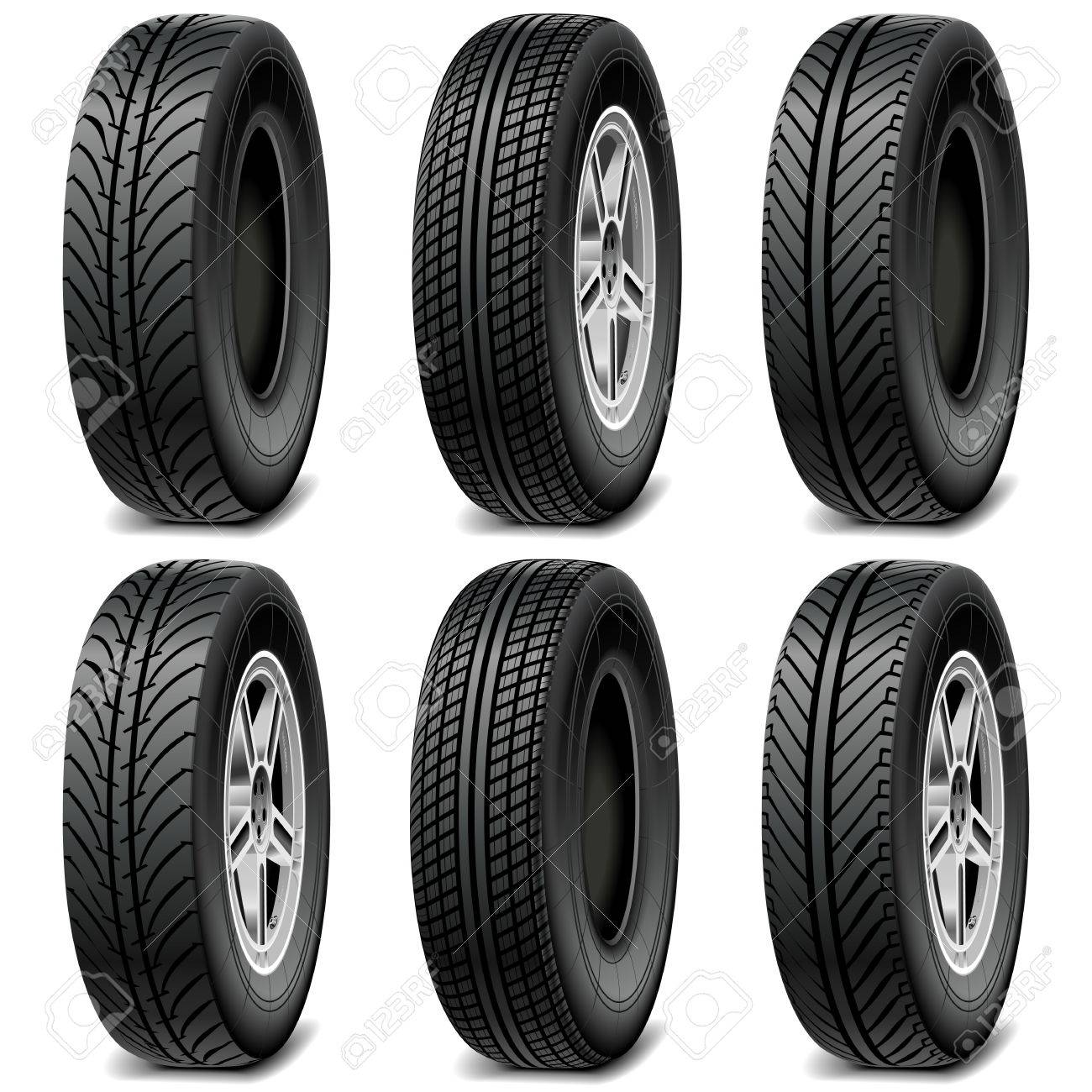 Car Tires For Nissan Altima, Car Tires Stock Vector 28918162, Car Tires For Nissan Altima