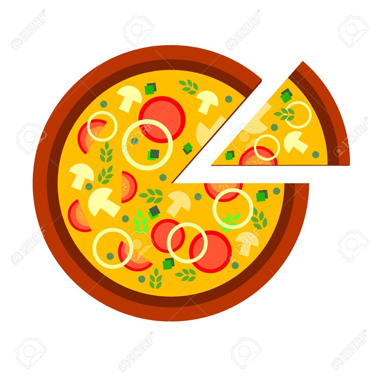 pizza vector food slice illustration cheese restaurant royalty free rh 123rf com pizza vector logo pizza vector logo