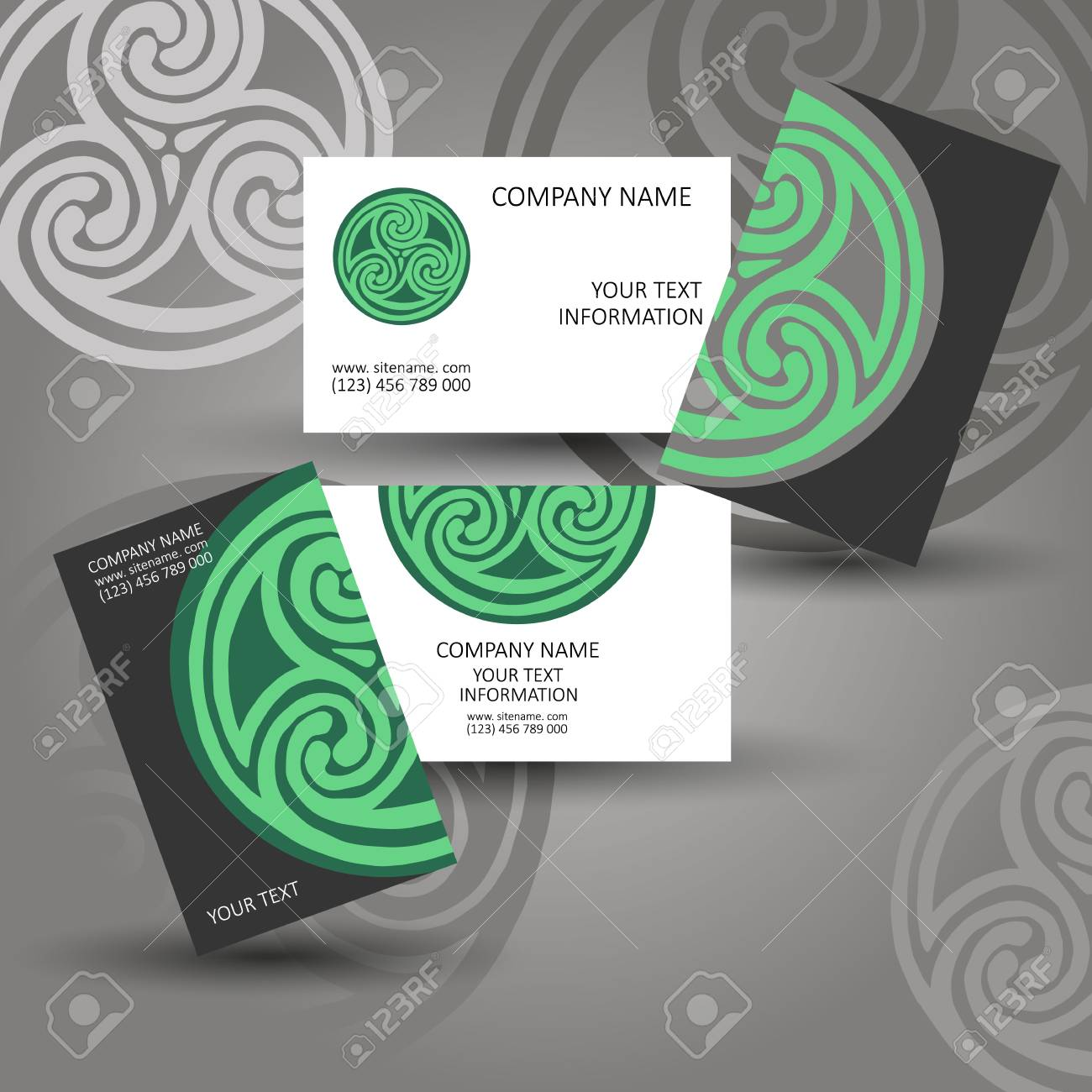 Vector Celtic Sign Design Symbol Logo Element Abstract Knot Icon ...