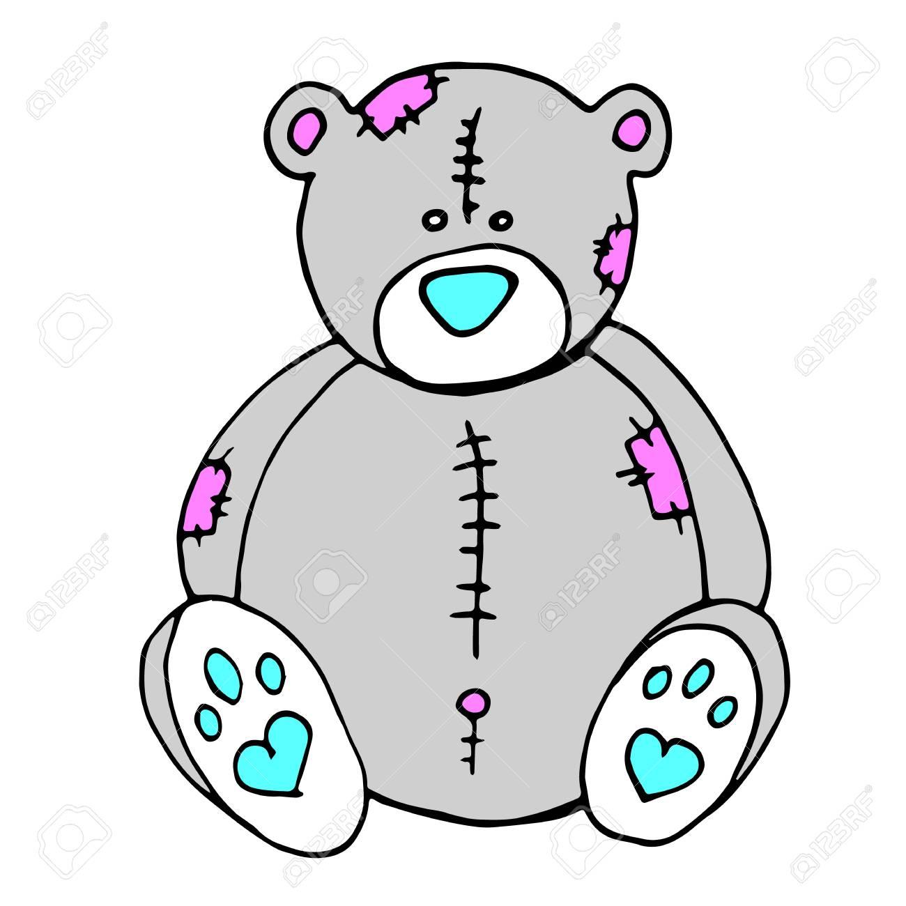 クマ ベクトル グッズ テディベア イラスト動物かわいい漫画赤ちゃん幸せ