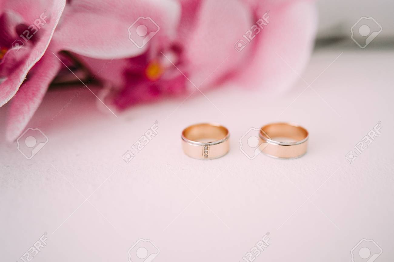 Wedding Rings. Wedding Symbols, Attributes. Holiday, Celebration ...
