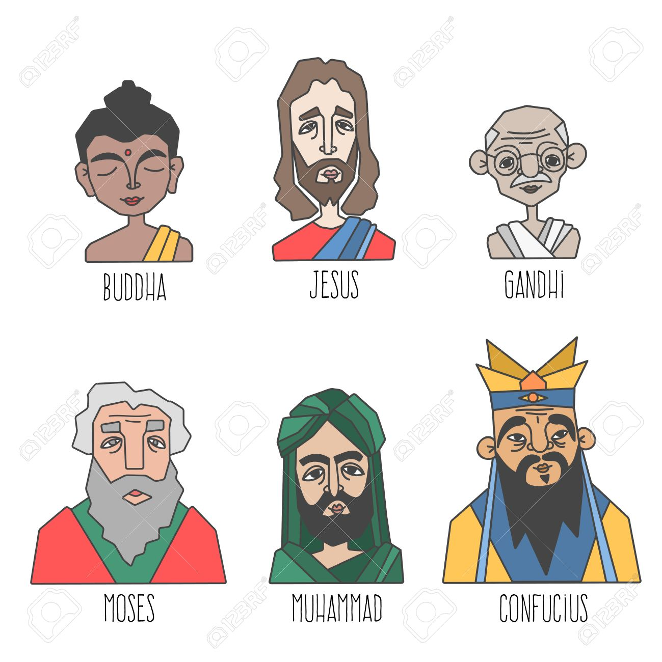 jesus and mohammad paper world religions Jesus and muhammad essay and term paper examples world religion jesus vs muhammad the lives of jesus and mohammed historically.