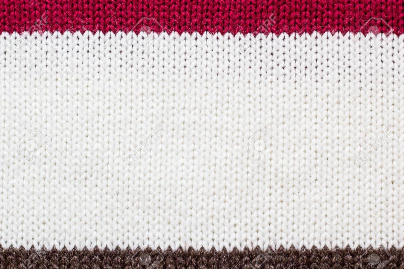 Fondo Colorido De La Textura Del Hilo Del Suéter, Bucles Delanteros ...