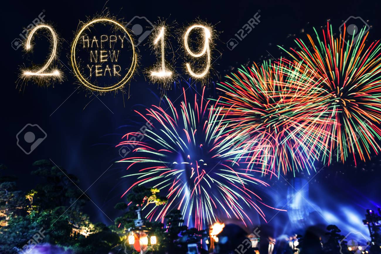 Happy New Year Fireworks 47