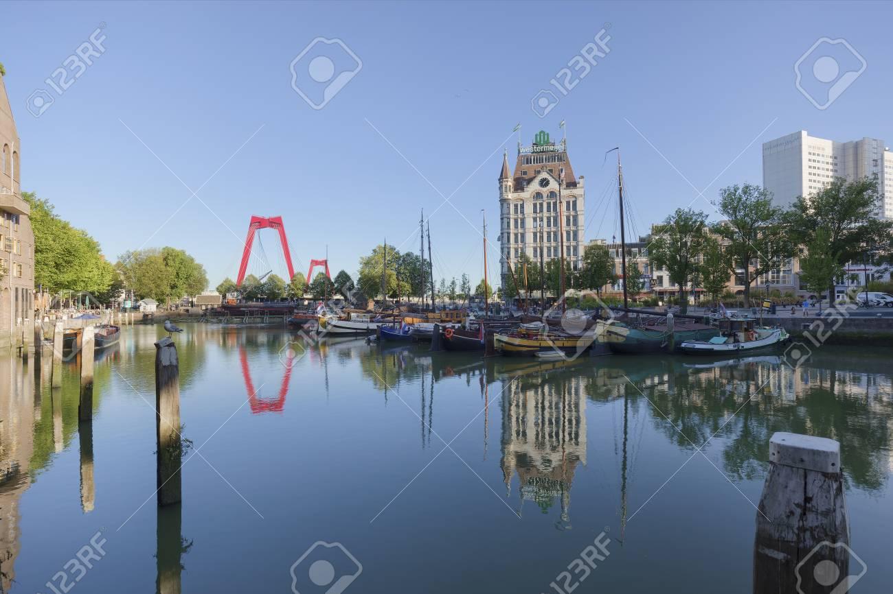 Old Port Oudehaven Rotterdam Netherlands