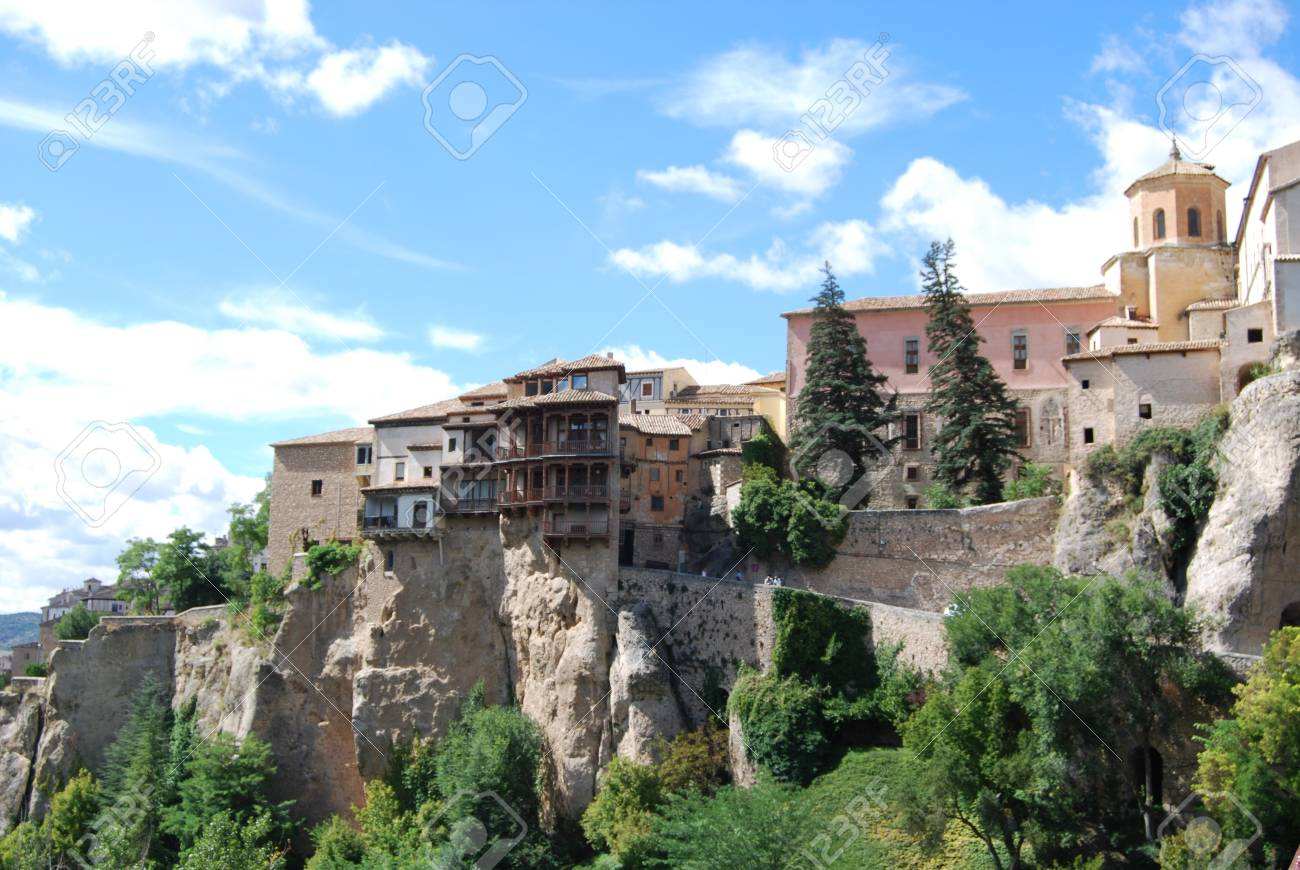 Hanging Houses Of Cuenca Spain Archivio Fotografico   15255881