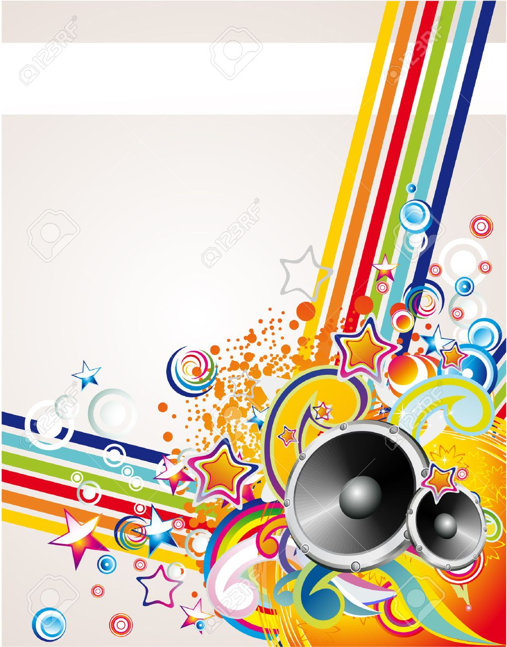 Dance and Music Event Background for poster or brochure Stock Vector - 5066055