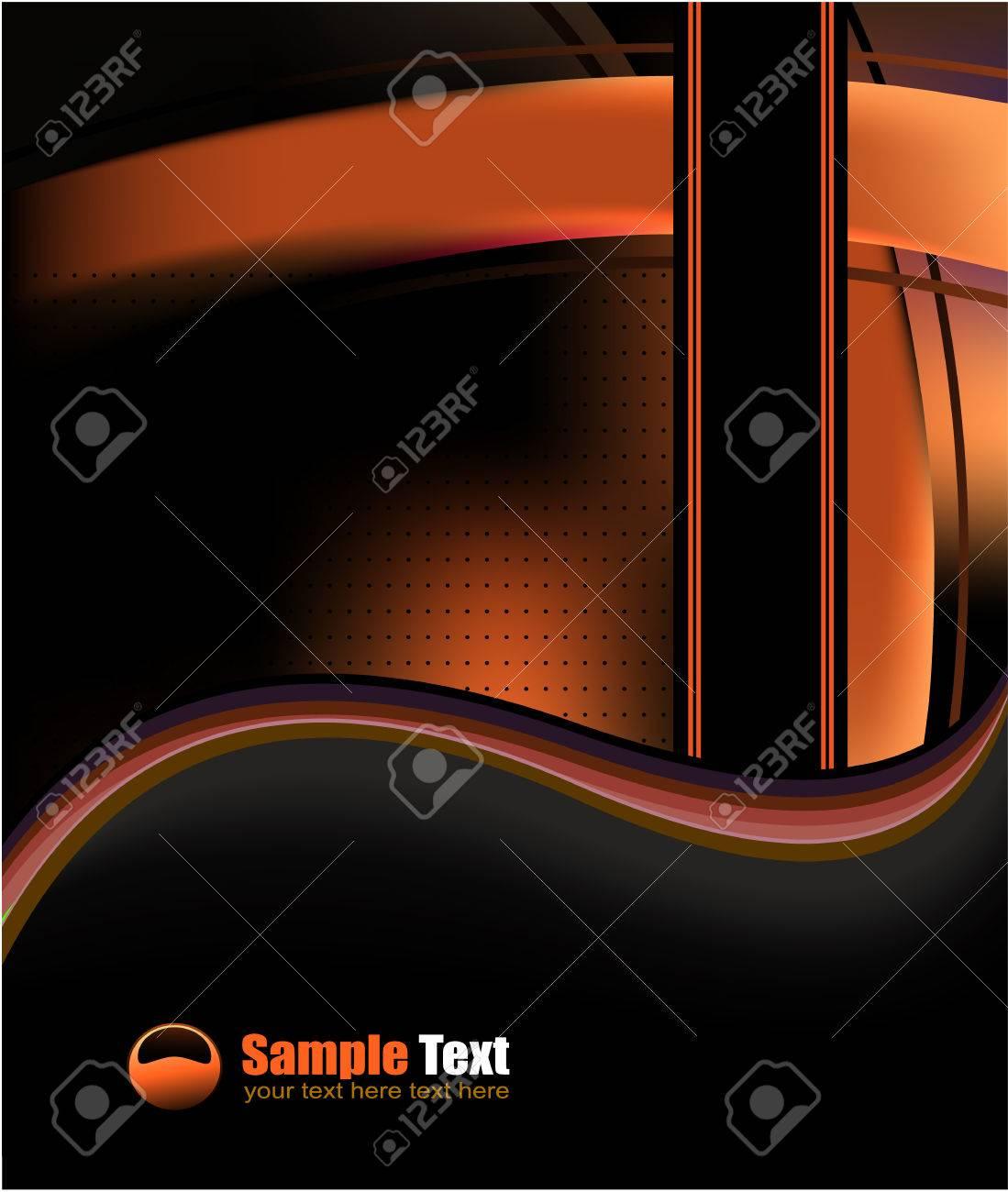Elegant style futuristic business card for depliant or brochures elegant style futuristic business card for depliant or brochures cover stock vector 5855187 colourmoves