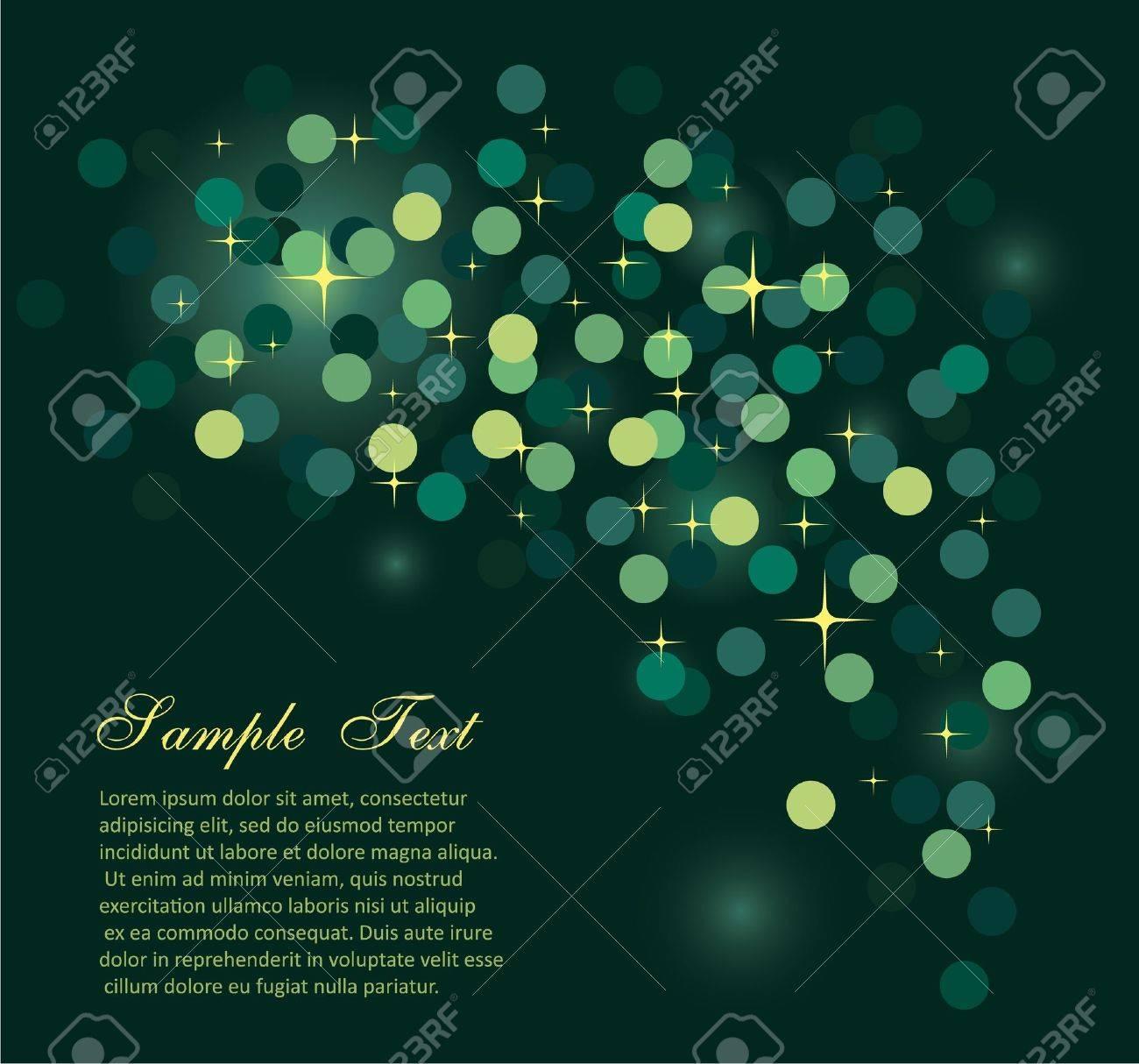 Elegant Colorful Glitter Abstrat Lights for Flyers Background Stock Vector - 7719561