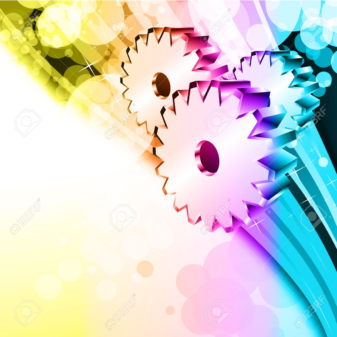 Abstract Colorful Business Background For Flyers Royalty Free ...