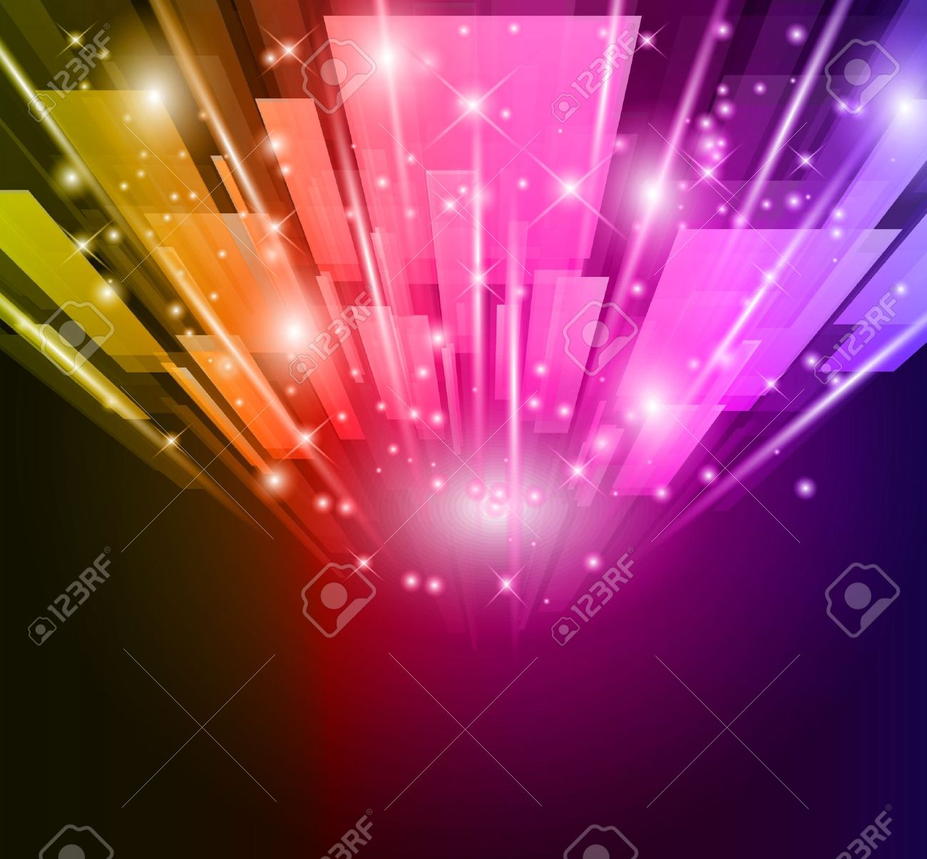 abstract glow of lights for business or corporate flyers background