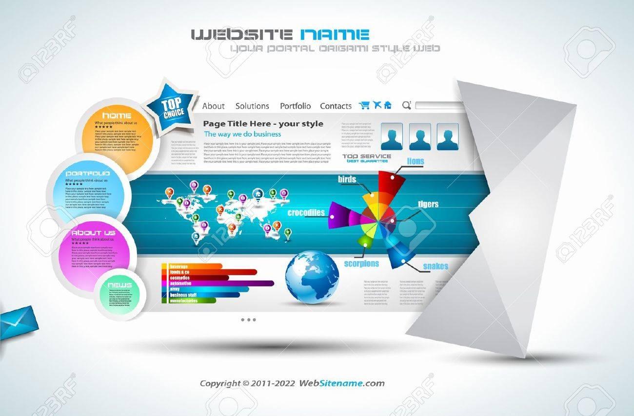 Wunderbar Vorlagenentwurf Für Websites Bilder - Entry Level Resume ...