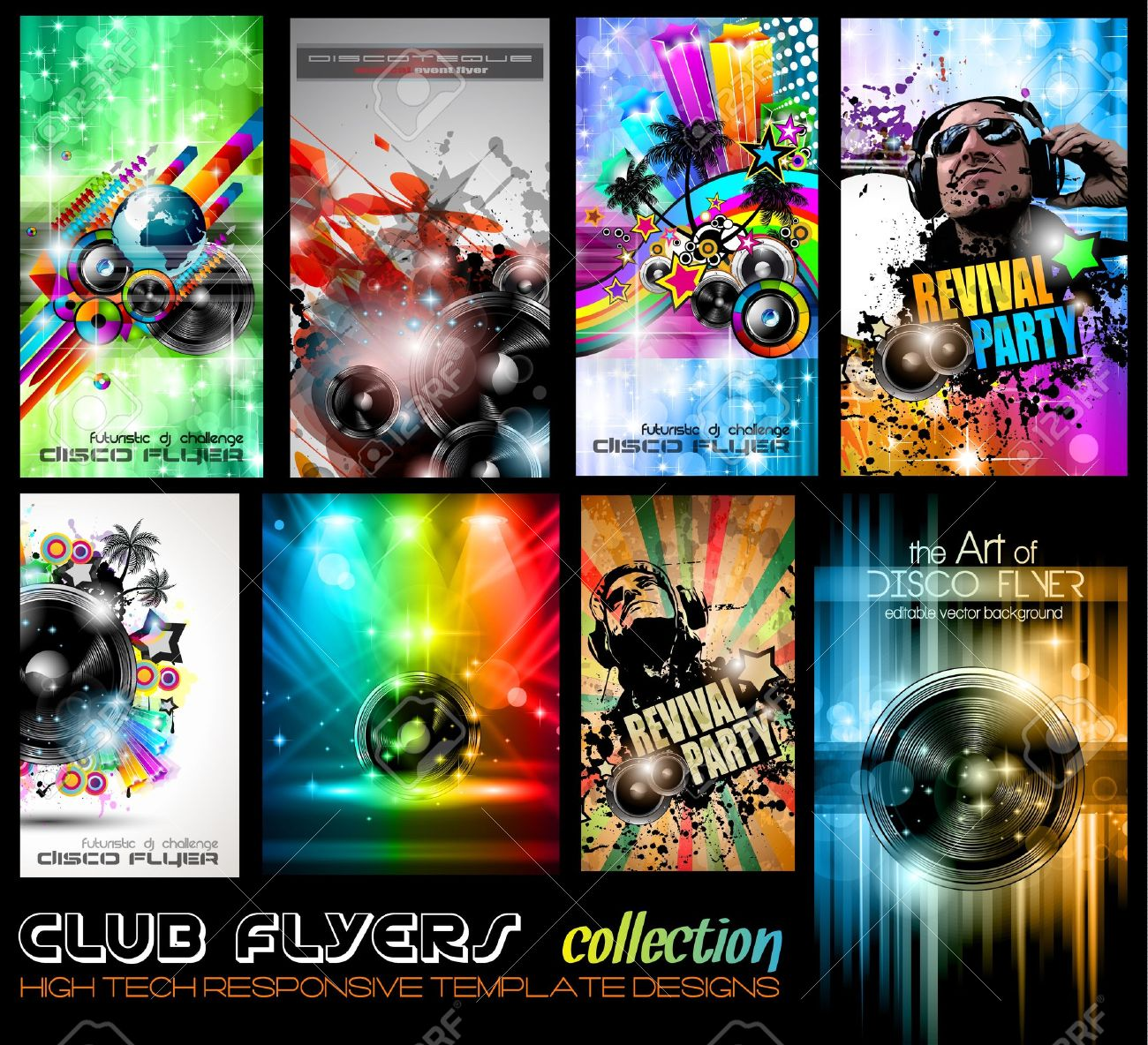 club flyers ultimate collection high quality abstract full