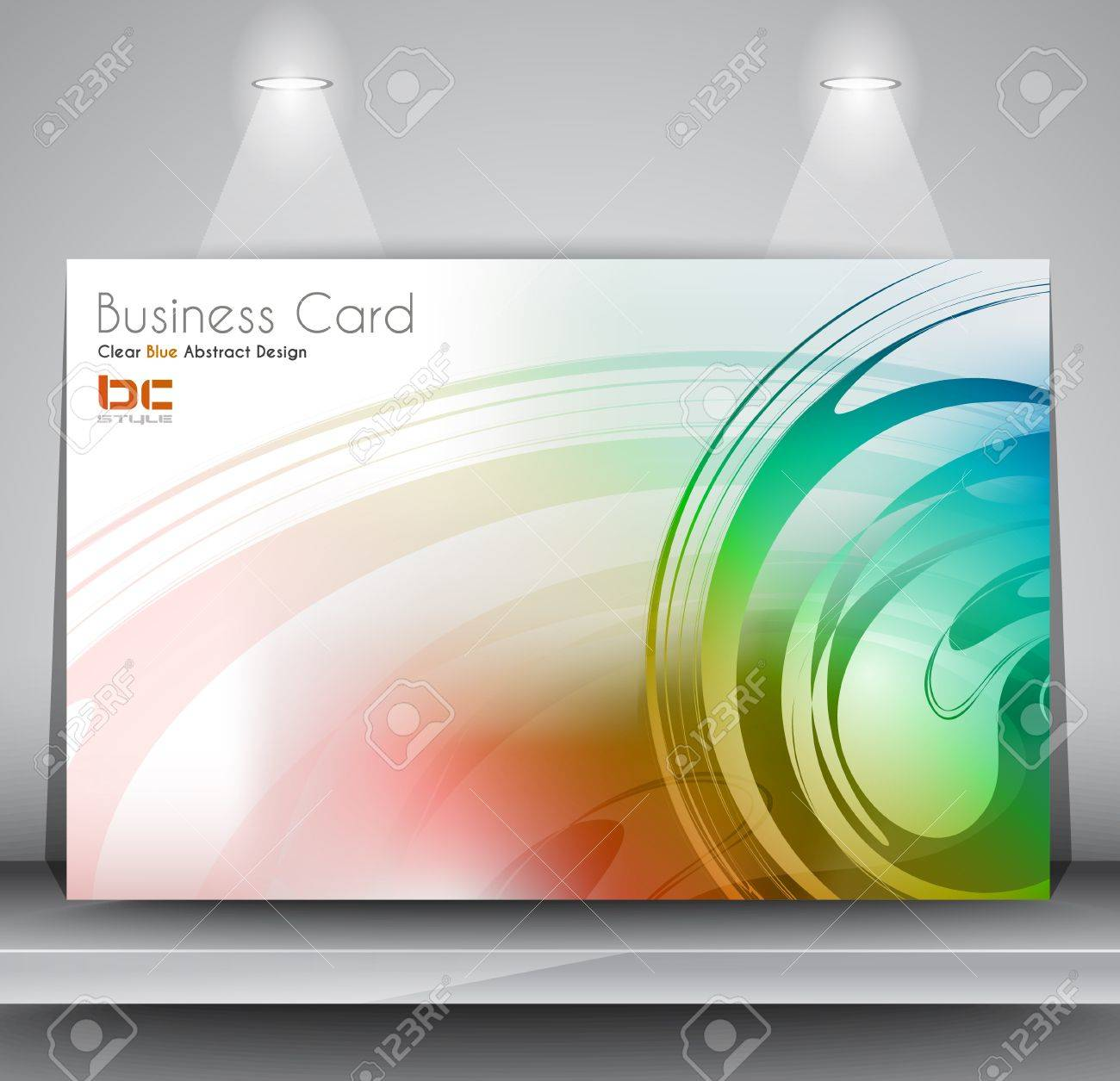 Elegant Business Card Design Template Ideal For Corporate Card