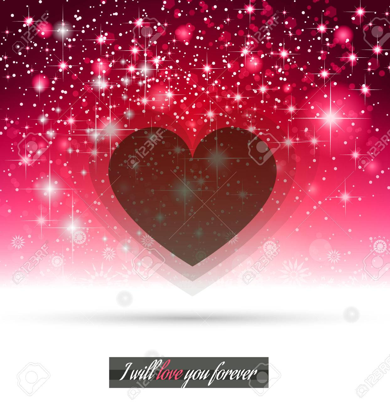 valentines day template with stunning hearts and colors for your flyer backgrounds stock vector - Valentines Day Template