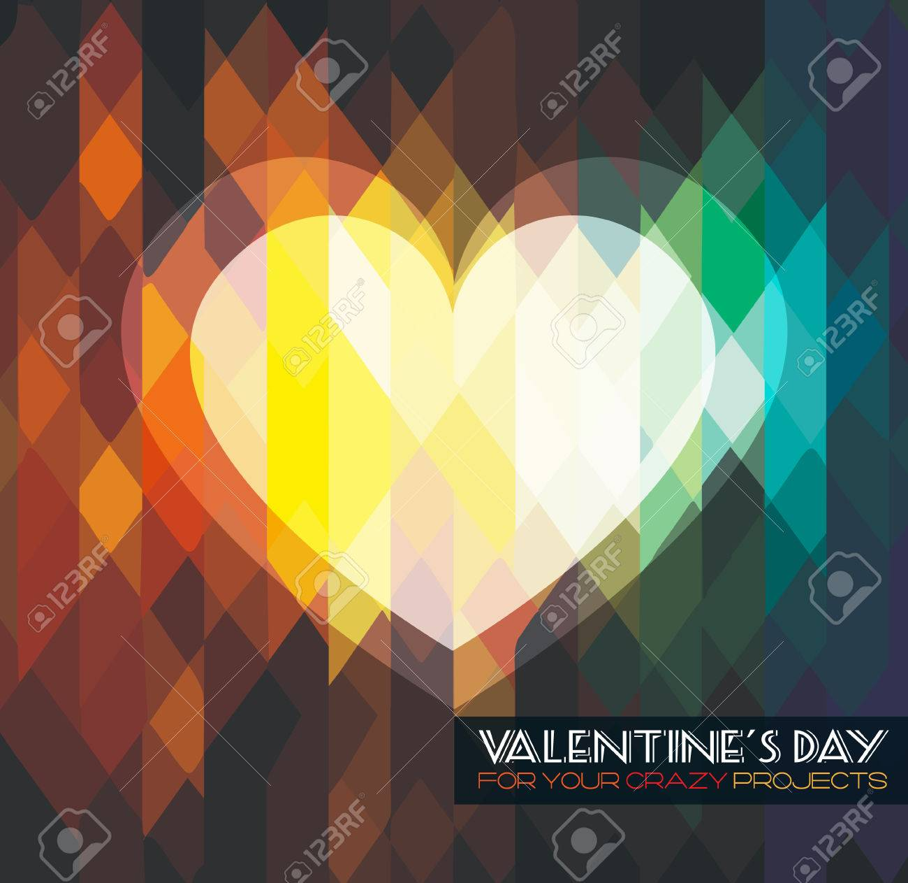 modern stylish valentine s day template for your flyer backgrounds modern stylish valentine s day template for your flyer backgrounds stock vector 25549496