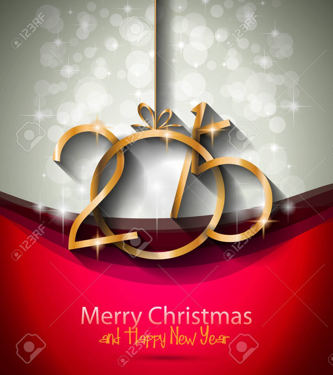 new year and happy christmas background for your flyers 2015 new year and happy christmas background for your flyers includes a lot of festive