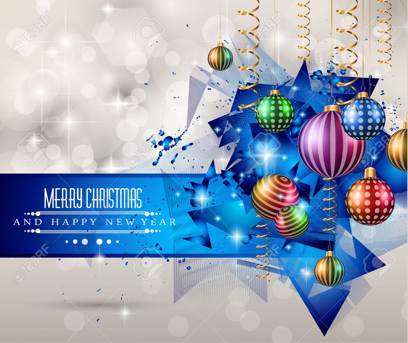 Merry christmas greeting card for happy holidays and new year merry christmas greeting card for happy holidays and new year flyers stock vector 33429436 m4hsunfo