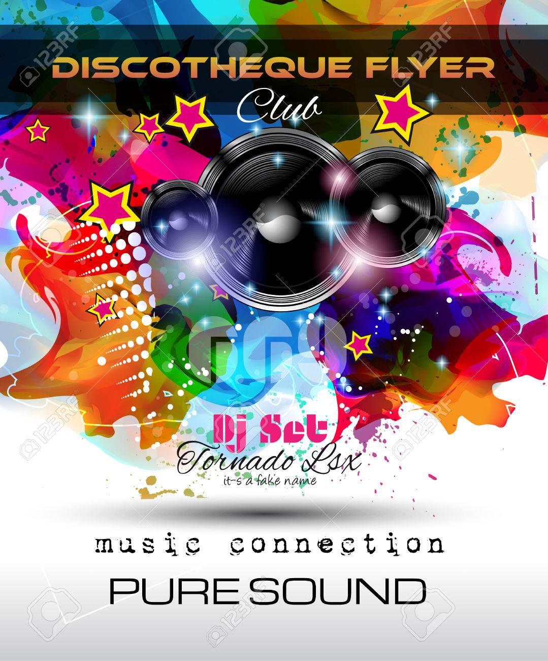 night club flyers