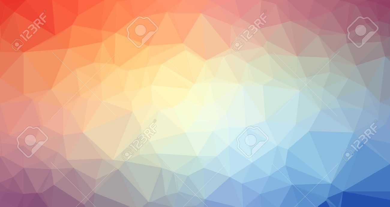 low poly trangular trendy art background for your polygonal flyer