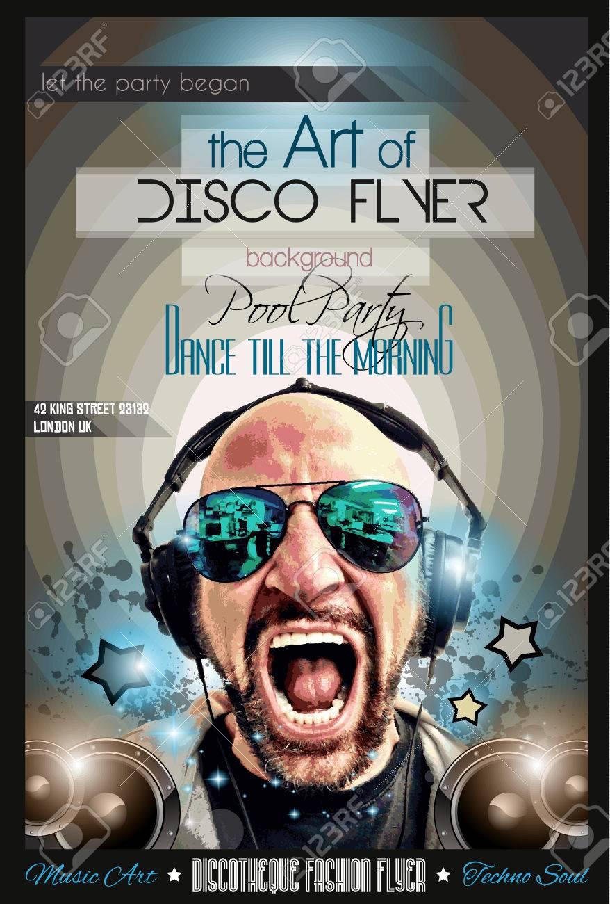 night club flyer