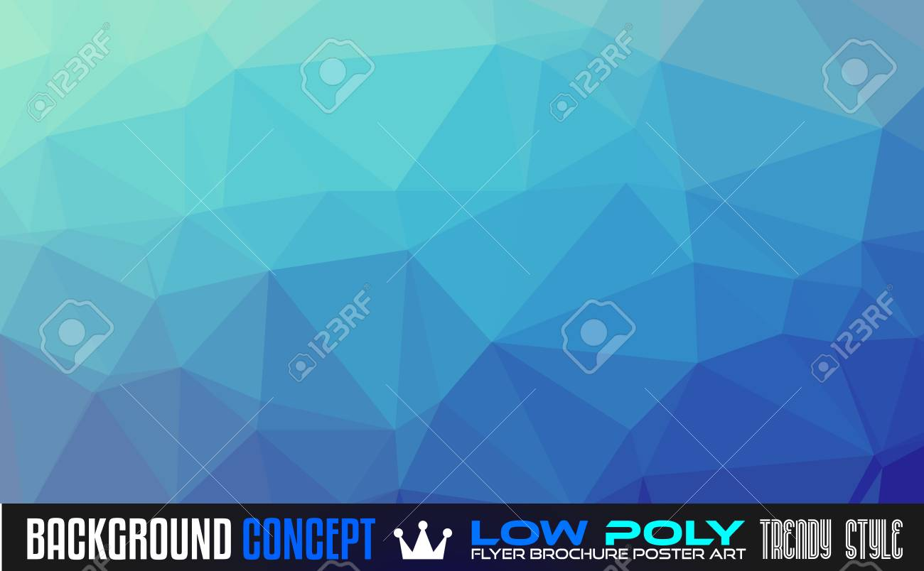 low poly art background for your polygonal flyer stylish brochure