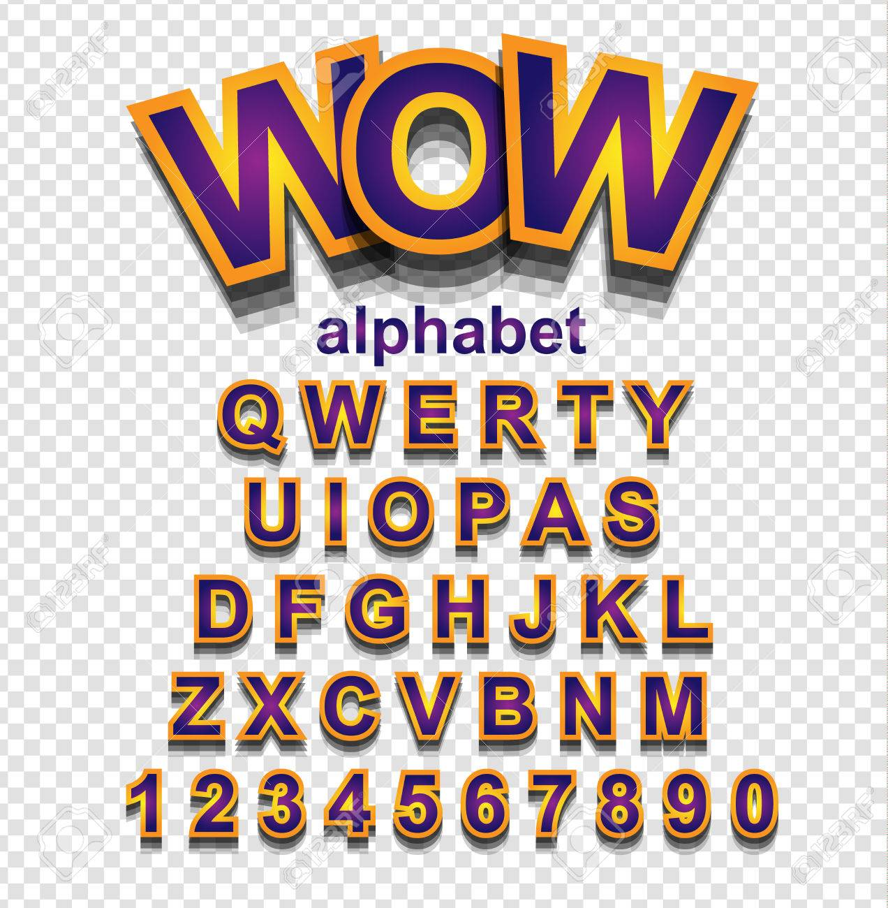 Cartoon Characters 8 Letters : Colorful funny simple font for cartoon project child event poster