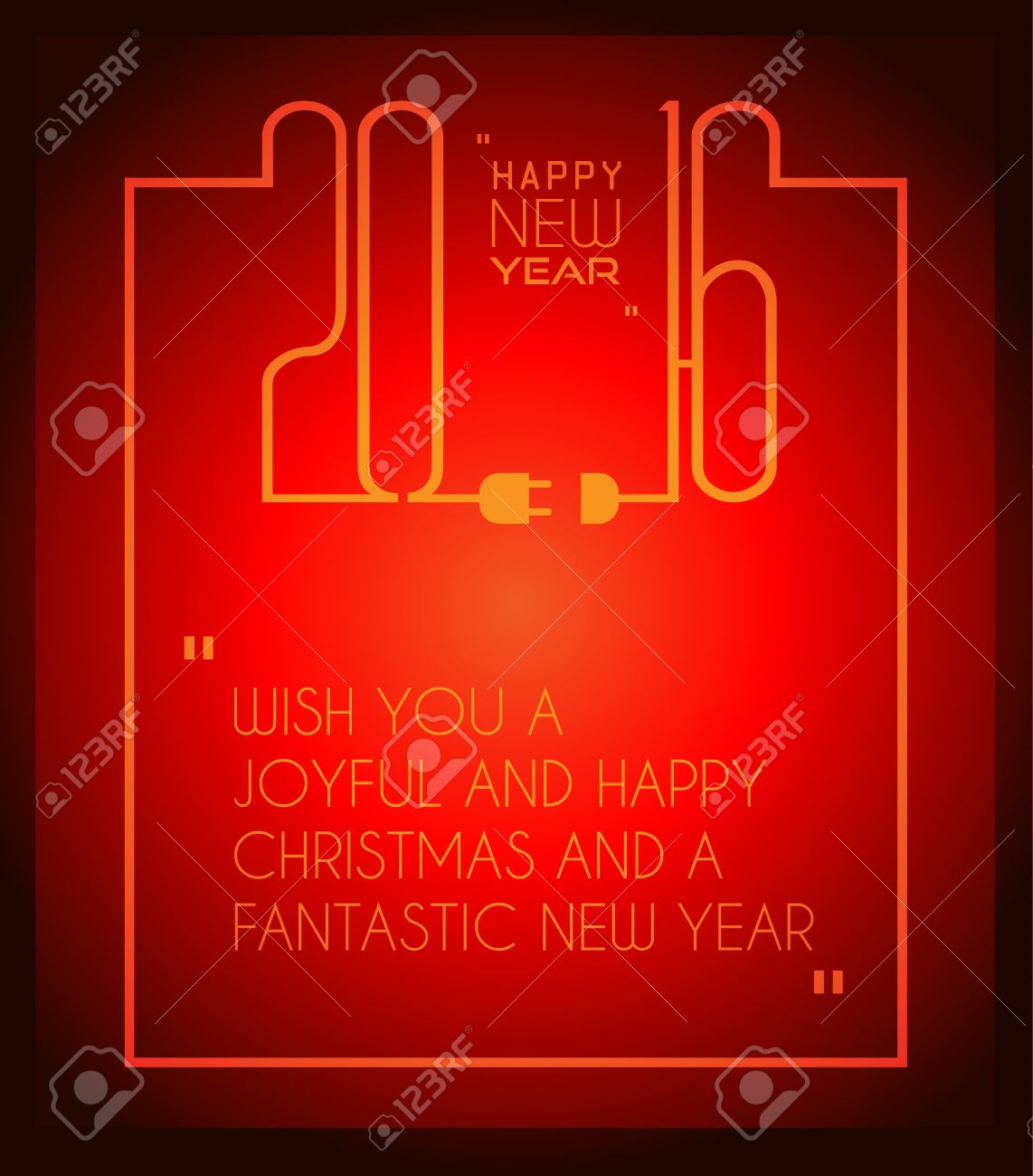 2016 happy new year background for your christmas dinner invitations festive posters restaurant menu