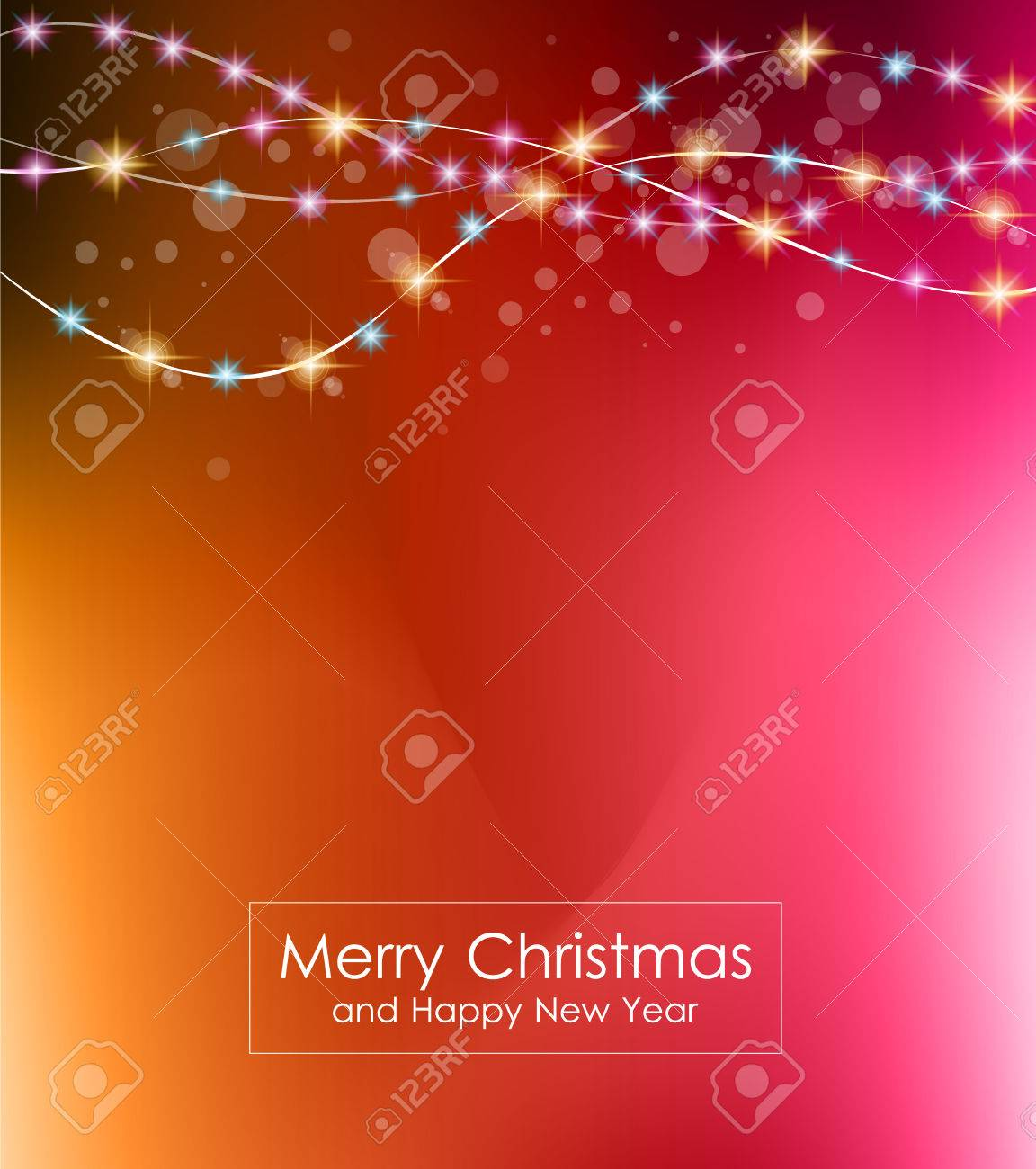 christmas lights background for your seasonal wallpapers, happy
