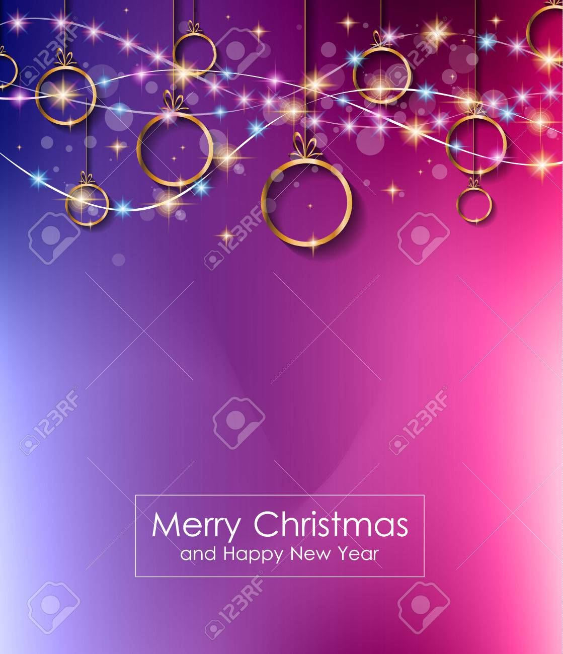 christmas lights background for your seasonal wallpapers happy new year backgrounds greetings card