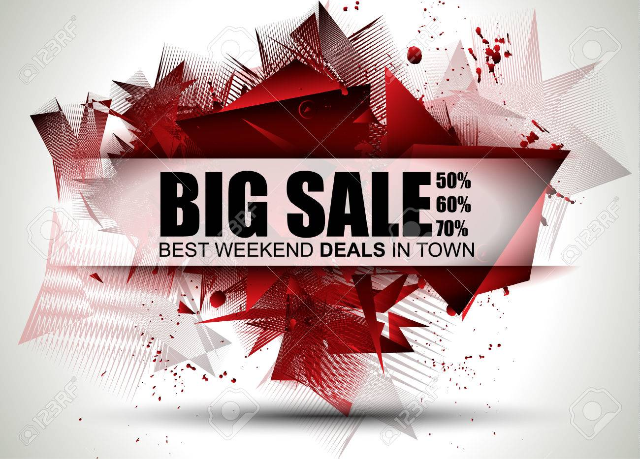Big Sale Best Discoount in time web banner for shop sales tag, poster for advertisement, sales flyer, black friday and web promotion materials. - 52205254
