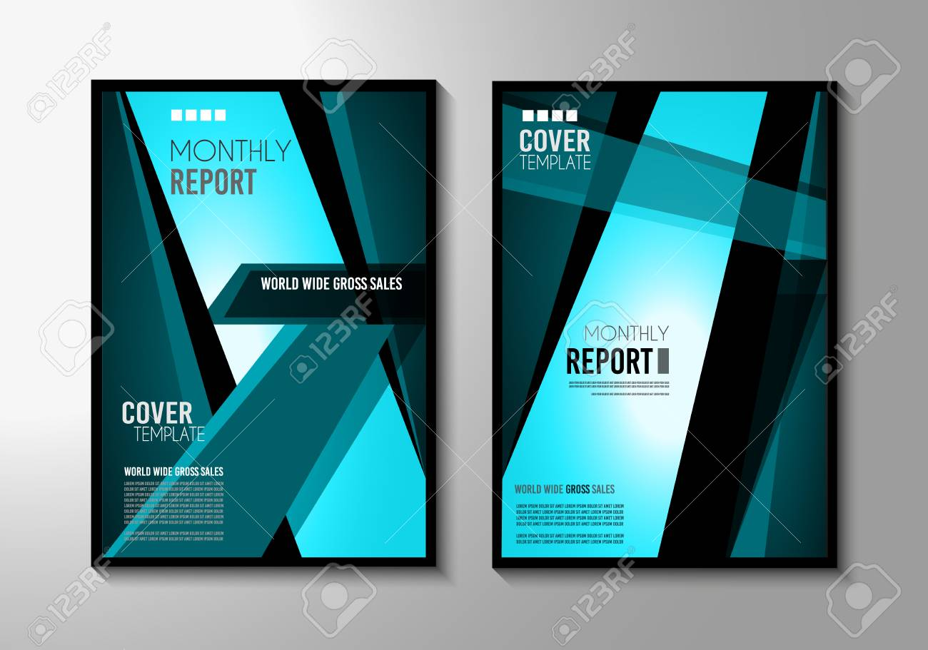 Brochure Template Flyer Design Or Depliant Cover For Business - Sales brochure template