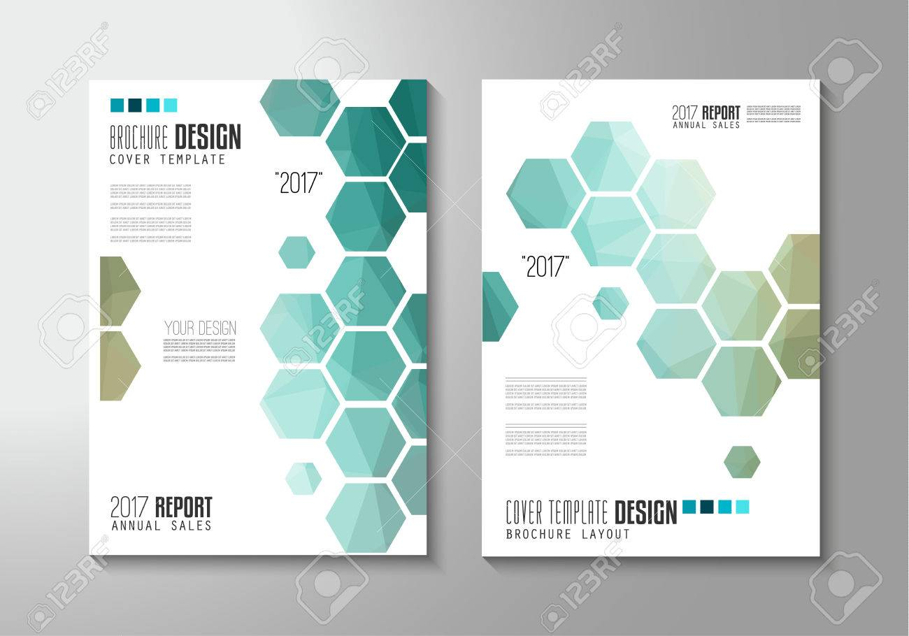 Brochure template, Flyer Design or Depliant Cover for business presentation and magazine covers, annual reports and marketing generic purposes. - 57485245