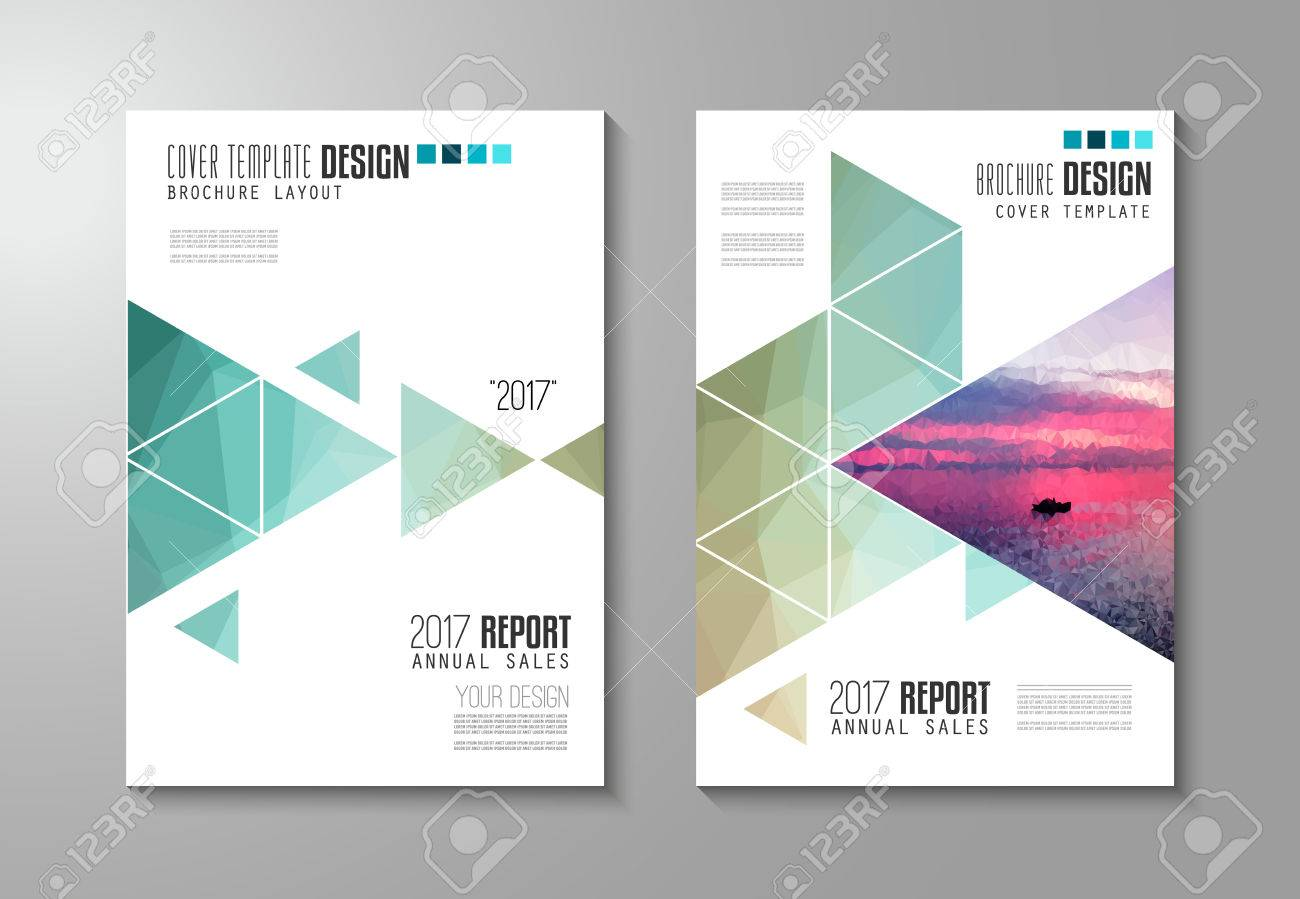 Brochure template, Flyer Design or Depliant Cover for business presentation and magazine covers, annual reports and marketing generic purposes. - 58515272