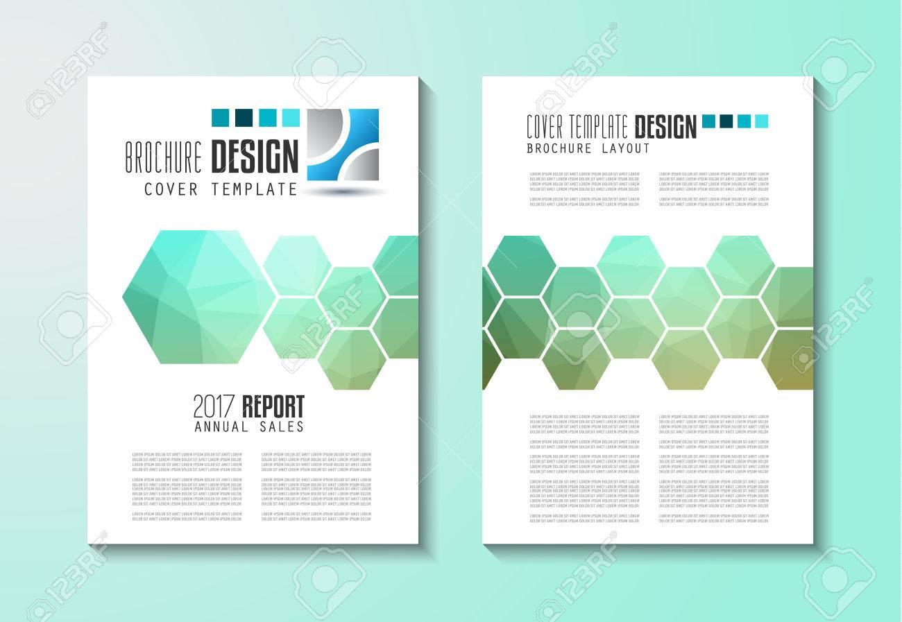 Brochure Template Flyer Design Or Depliant Cover For Business - Elegant brochure templates