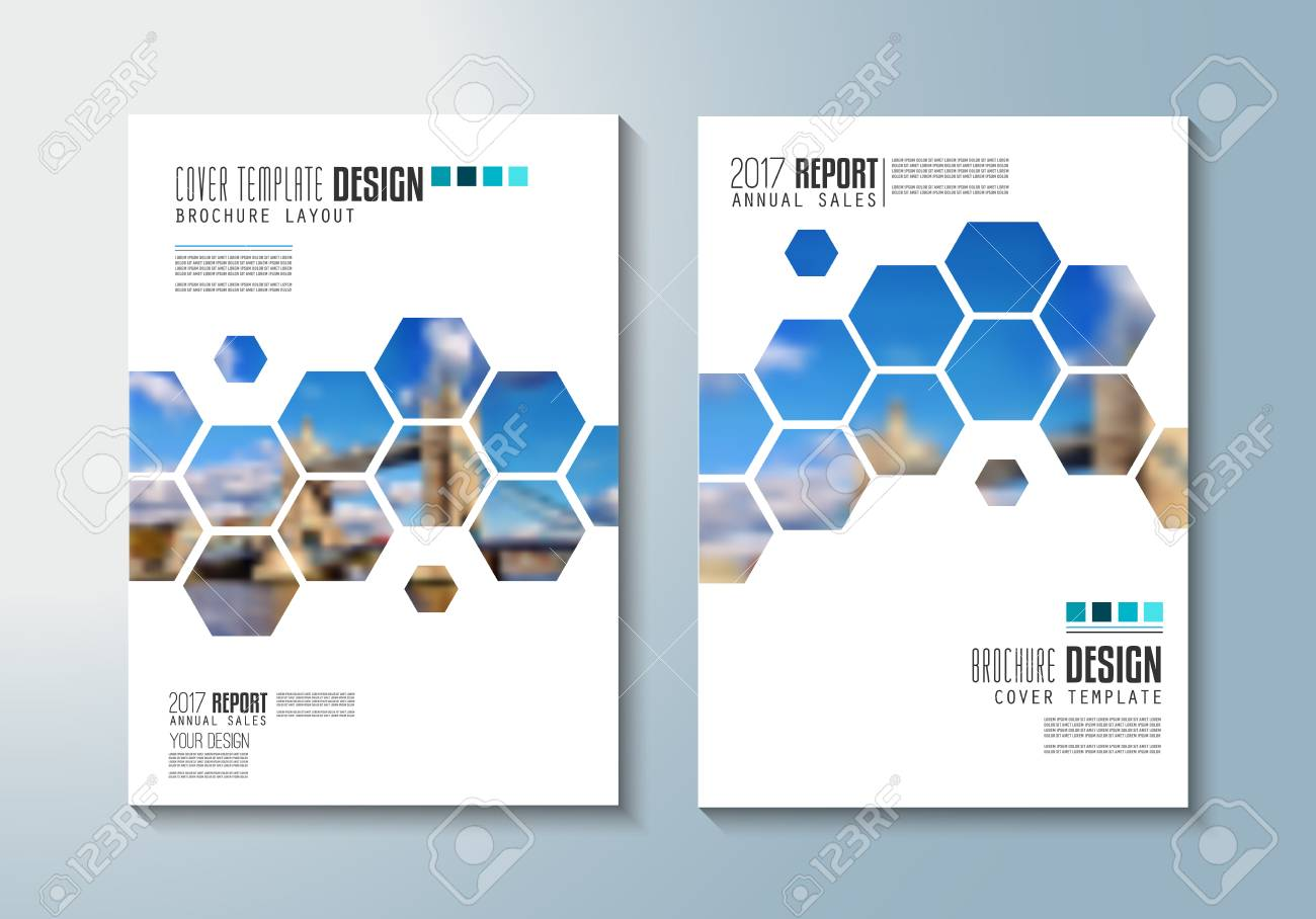 brochure template flyer design or depliant cover for business purposes elegant layout with space
