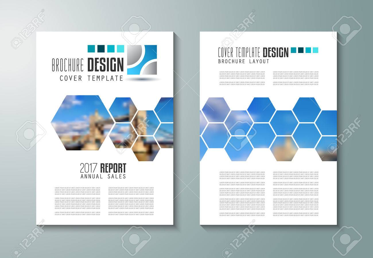 Brochure Template Flyer Design Or Depliant Cover For Business - Elegant brochure templates